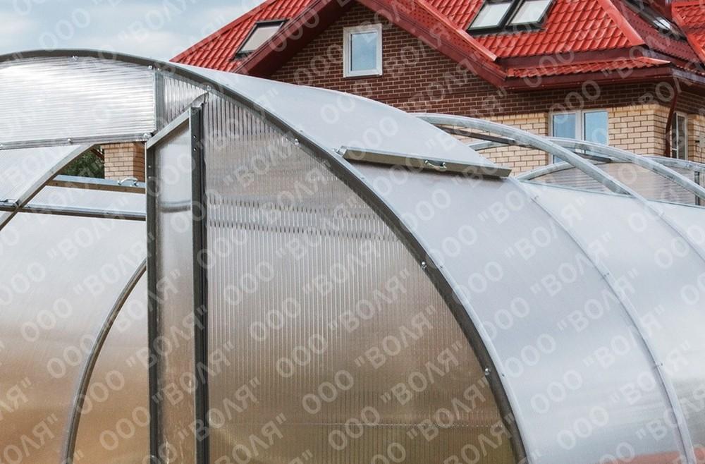 Теплицы с открывающейся крышей